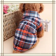 Haustier-Mode Plaid Haustier Hundekleidung Shirt