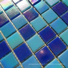 Mosaïque en mosaïque en verre Irdium Mosaïque bleu