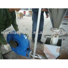 Máquina de granulação de plástico de madeira