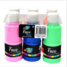 Konkurrenzfähiger preis 6 Farben Kinder kit malerei set finger farbe Waschbar Farbe Waschbar Farbe Für Kinder
