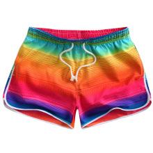 Shorts da nadada das mulheres que nadam o short da praia da ressaca com cintura elástica