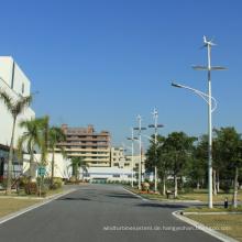 Energieeinsparung Wind Solar Straßenlaterne
