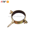 a17 3 cable fixing clip pipe clamp round tube clamp rubber cushioned p shaped pipe clamp