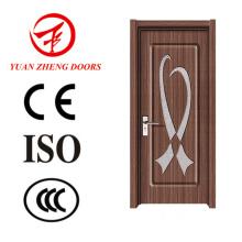 Porta de madeira porta sem pintura