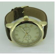 Poignet unisexe imperméable à l'eau 3amt beau propre logo montre pour homme