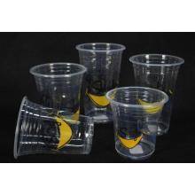 Plastik Saft Tassen zum Mitnehmen
