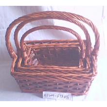 (BC-ST1033) Qualitäts-handgemachter Weide-Speicher-Korb