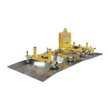 Safe And Efficient Material Sheet Metal Movable Robot Arm With Vacuum Suction Cup Vacuum Lift For Laser Cutting Machine