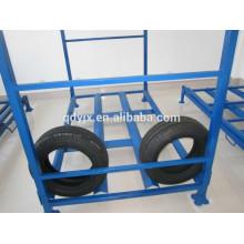 estantes del almacenaje del neumático interior vertical