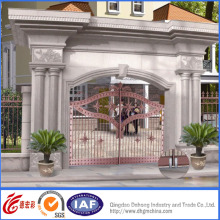 Vintage Golden High Quality Wrought Iron Gate
