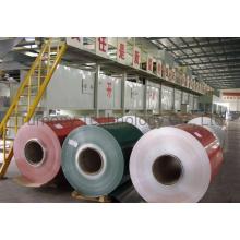 PE PVDF Nano Color Coated Anodized Mill Finish Packing Foils Aluminum Coils for ACP