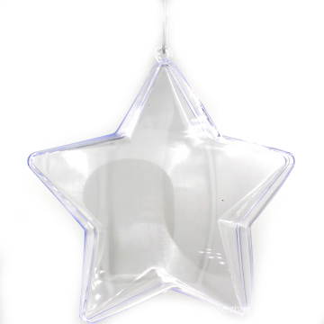 Openable Transparent Christmas Ball Ornament