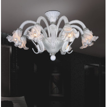 Charming White Ceiling Lamp (81011-8)