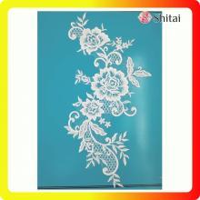 Кружева для вышивания на тюльпане для свадебного и вечернего платья