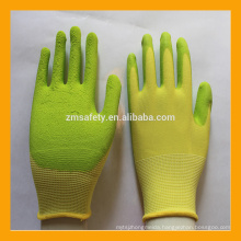 Environmental Protection Breathable Foam Latex Coated Kids Gloves