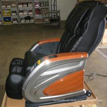 Moeda reclinada da cadeira da massagem de Irest operada no aeroporto