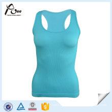 100% Polyester Dri Fit Wicking Lagy Gym Singlet