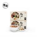 Edible organic breakfast instant soup