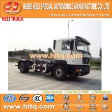SHACMAN aolong de elevación hidráulica camión de basura 4x2 10 m3 venta directa de fábrica de venta directa de bajo precio