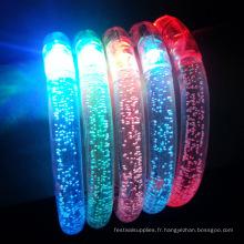 vrac en gros acrylique led bracelets