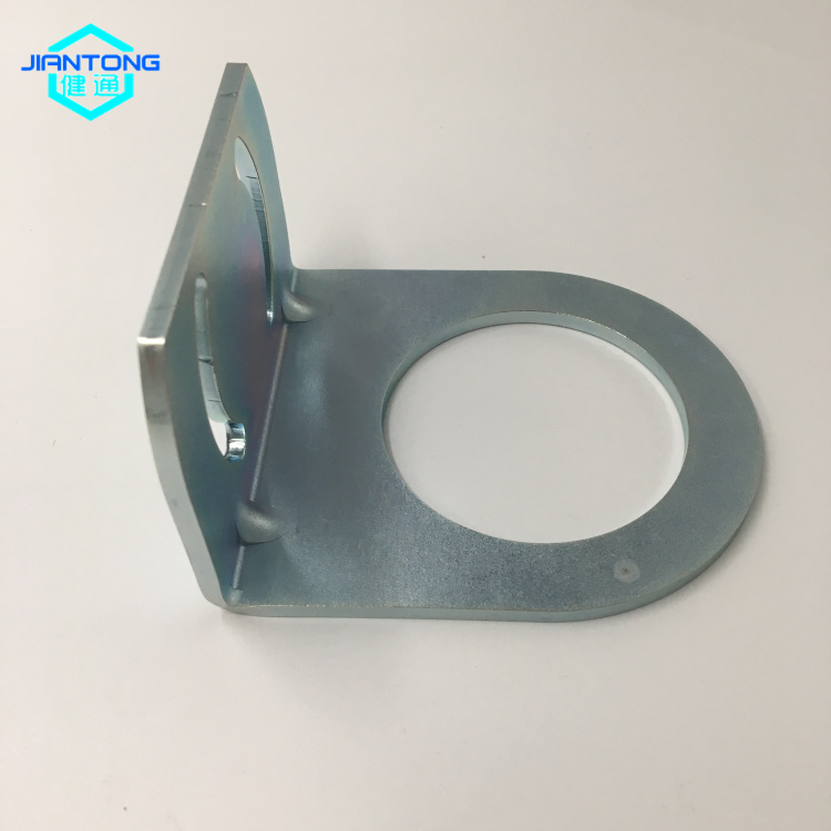 Customized L shaped bracket steel stamping parts (1)