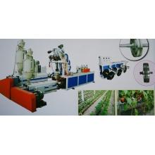 Machine de fabrication de tuyaux plats pour irrigation goutte à goutte