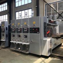 High speed carton printing slotting machine for making corrugated carton box