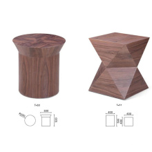 Elegant and New Design Wooden Round Coffee Tables Factory Customized for Sales
