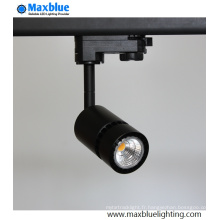 9W LED Spot Track Light pour maison et art Gallary