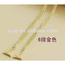 Gold-Metall-Büstenhalterriemen