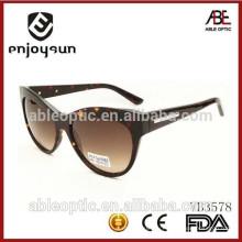 2015 Модные солнцезащитные очки для очков ручной работы с ацетатным солнцезащитным очком с OEM
