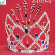 Coroa popular bonita e adorável, tiara da coroa de balé