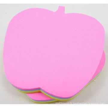En forme de 3X3inch (bloc-notes) Sticky Note Neon