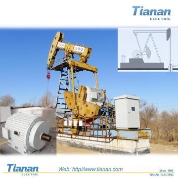 API Oil Well 33KV HV Permanentmagnet Elektrischer Motor Composite Motor für Ölproduktion
