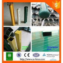 Poste de clôture Alibaba ISO9001 à vendre / poste de clôture temporaire / poteaux de clôture décoratifs