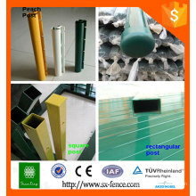 Alibaba ISO9001 fence post for sale/temporary fence post/decorative fence posts