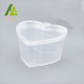 Boîte à épices en forme de coeur 45ml en plastique