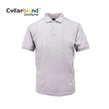 Nouveau t-shirt polo blanc blanc confortable à la mode
