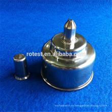 Lámpara de alcohol de laboratorio o de enseñanza con tapa de plástico de 250 ml.