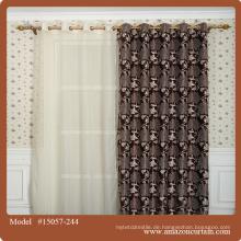 Jacquard Blackout Dekoration Vorhang Stoffe Private Design Home Decor Material Schmetterling