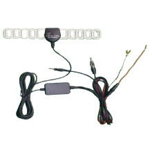 Активный приемник DVB-T Автомобильный цифровой ТВ антенны-черный