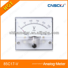 85C17-V square type DC Analog voltmeter panel mete