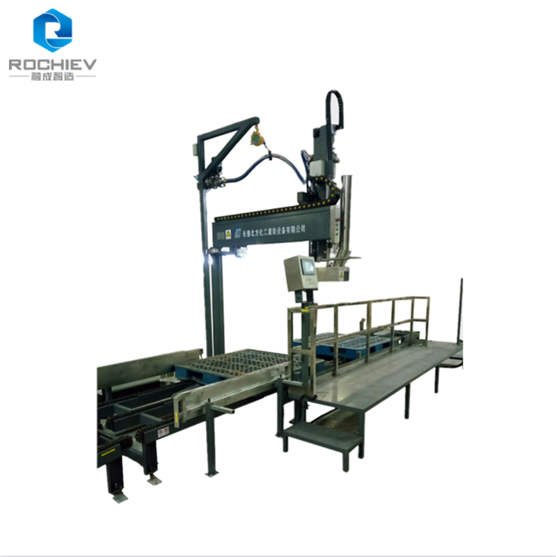 Pallet Drum Filler Capper