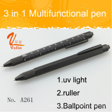 Популярные 3 в 1 многофункциональный инструмент Pen с ультрафиолетовым светом