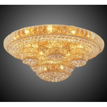 Living room Crystal Ceiling lamp fixture hotel lamp