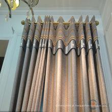 Cortina de tela de porta modelo bonito e quente moda de vendas design cortinas frilled