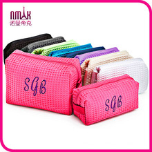 Guangzhou Suppliers Designer Set of Cosmetic & Travel Bag Embroidered Cosmetic Case (C-082)