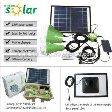 Nouveau CE portable solaire éclairage de secours avec des ampoules led pour la maison lighting(JR-SL988) d'urgence