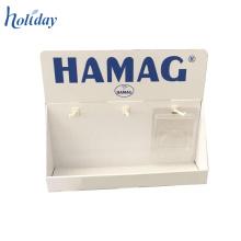 Affichage de compteur de crochet de cheville de carton pour des accessoires