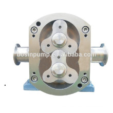 Electric horizontal or vertical sanitary stainless steel food grade oil pumps with self priming